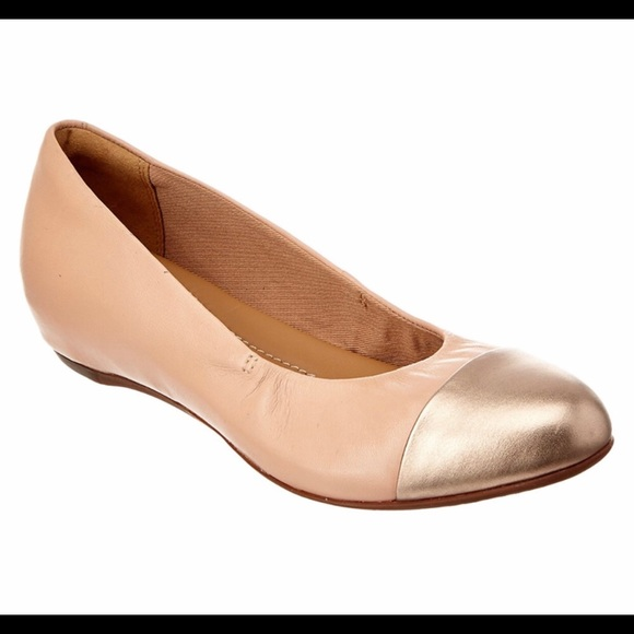 b43d51dfa5 Clarks Shoes | Alitay Susan Flats Nude Pinklight Gold | Poshmark
